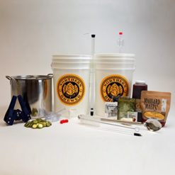 Brew-Share-Enjoy-Homebrew-Beer-Brewing-Starter-Kit-with-Block-Party-Amber-Ale-Beer-Recipe-Kit-and-Brew-Kettle-0