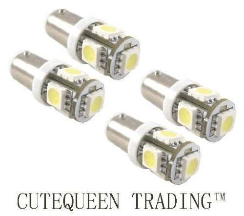 Cutequeen-LED-Car-Lights-Bulb-Blue-BA9-BA9s-5050-5-SMD-BA9S-53-57-182-257-1895-6253-64111-64113-pack-of-4-0
