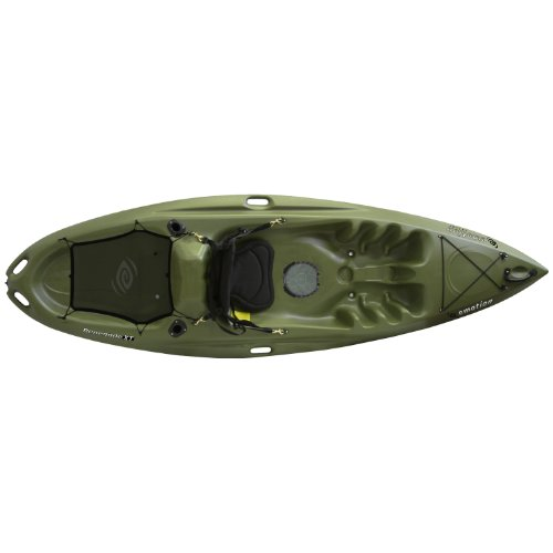 Emotion 90259 renegade xt fishing kayak forest green for Emotion fishing kayak