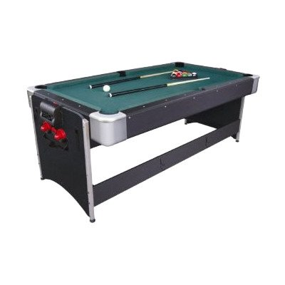 Beau Fat Cat Original 2 In 1, 7 Foot Pockey Game Table (Billiards And Air Hockey)
