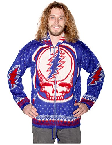Grateful-Dead-Alpaca-Style-Zip-Up-Hooded-Sweater-Jacket-Drug-Rug-Steal-Your-Face-0