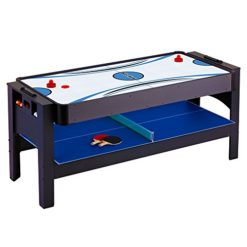Hathaway-Triple-Threat-3-in-1-Air-Hockey-Billiards-and-Table-Tennis-Table-6-Feet-0