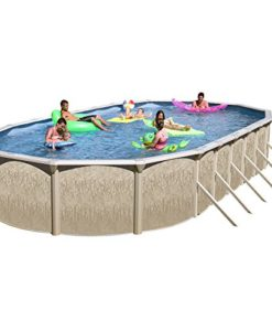 Heritage-GA-331852DH-CFP-Georgian-Complete-Above-Ground-Pool-33-Feet-x-18-Feet-x-52-Inch-0