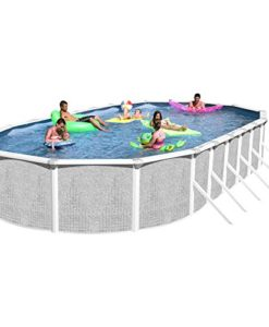 Heritage-TA-331852GP-DXP-Taos-Complete-Above-Ground-Pool-33-Feet-x-18-Feet-x-52-Inch-0
