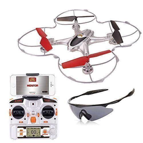 Holy-Stone-X300C-FPV-RC-Quadcopter-Drone-with-Wifi-Camera-24G-4CH-6-Axis-Gyro-RTF-Headless-Mode-Includes-Goggles-and-Bonus-Battery-0