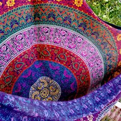 Indian-Wall-Hanging-Hippie-Mandala-Tapestry-Bohemian-Bedspread-Ethnic-Dorm-Decor-0