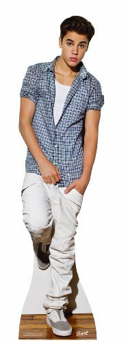 Justin-Bieber-Checkered-Shirt-Lifesize-Standup-Poster-0