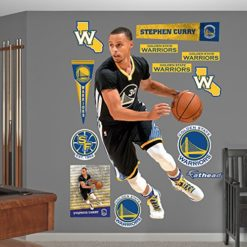 NBA-Golden-State-Warriors-Stephen-Curry-Point-Guard-Fathead-Real-Big-Decals-43W-x-76H-0