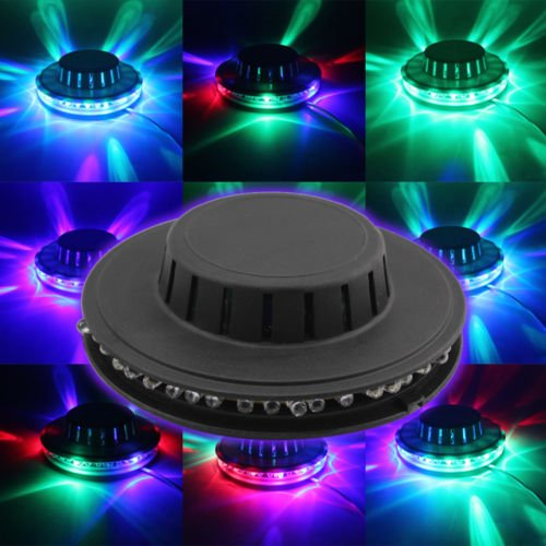 Smrroy-er-5sd-Rotating-Party-stage-Sunflower-48-LED-RGB-Light-8W-Voice-ActivatedAuto-0