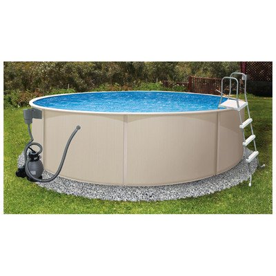 Good Swim Time Rugged Steel Round 4852 Inch Deep  Design Ideas