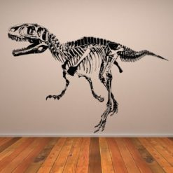 T-Rex-Skeleton-Wall-Sticker-Dinosaur-Wall-Decal-Art-available-in-5-Sizes-and-25-colors-0