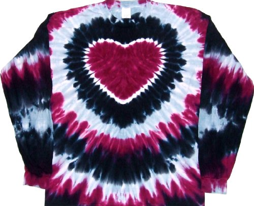 Tie-Dyed-Shop-Prairie-Wine-Tie-Dye-Heart-Shirt-Small-to-5X-0
