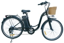 Watseka-XP-Cargo-Electric-Bicycle-26-6-speed-AdultYoung-Adult-Black-0
