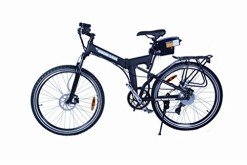 X-Cursion-Electric-Folding-Mountain-Bicycle-Black-0