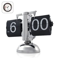 niceeshopTM-Retro-Flip-Down-Clock-Internal-Gear-Operated-0