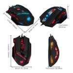 2016-New-Version-Zelotes-T90-Professional-9200-DPI-High-Precision-USB-Wired-Gaming-Mouse8-ButtonsWith-7-kinds-modes-of-LED-Colorful-Breathing-Light-Weight-Tuning-Set-Black-0-1