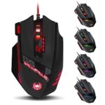 2016-New-Version-Zelotes-T90-Professional-9200-DPI-High-Precision-USB-Wired-Gaming-Mouse8-ButtonsWith-7-kinds-modes-of-LED-Colorful-Breathing-Light-Weight-Tuning-Set-Black-0-6