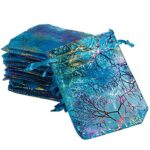 2550pcs-12x9cm-Coralline-Organza-Jewelry-Pouch-Wedding-Party-Favour-Gift-Bags-0
