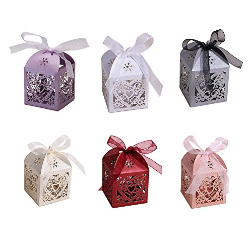 EUBeisaqi-50-PCS-Love-Heart-Laser-Cut-Candy-Gift-Boxes-With-Ribbon-Wedding-Party-Favor-0