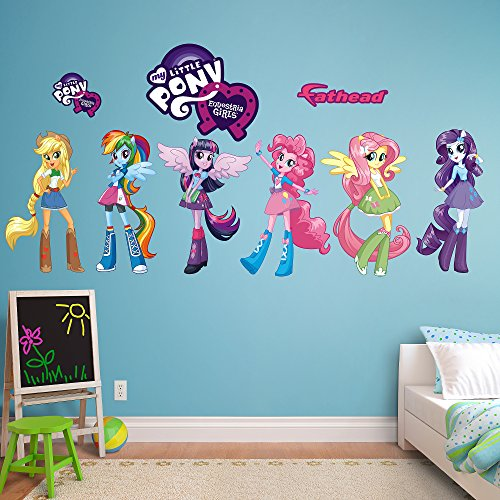 Fathead My Little Pony Equestria Girls Collection Vinyl Decals