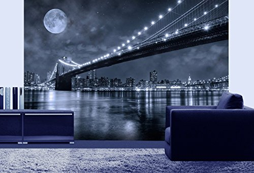 Mural Wall Art Photo Decor Brooklyn Bridge Large  Part 79