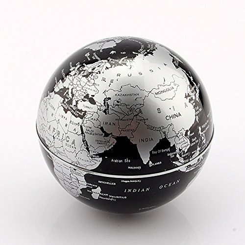 Zjchao funny c shape magnetic levitation floating globe world map zjchao funny c shape magnetic levitation floating globe gumiabroncs Images