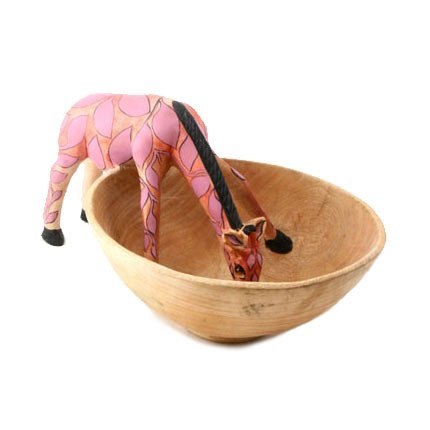 Watering-Hole-Jacaranda-Wood-Giraffe-Bowl-Pink-Fair-Trade-0