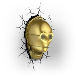 3D-Light-FX-Star-Wars-C-3PO-3D-Deco-LED-Wall-Light-0
