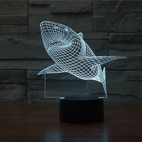 Huiyuan-3d-Night-Lamp-Colorful-Shark-Shape-Touch-Control-Light-7-Colors-Change-USB-LED-for-Desk-Table-with-Multicolored-USB-Powered-Home-Decoration-Best-Gift-for-Valentines-Day-0-0