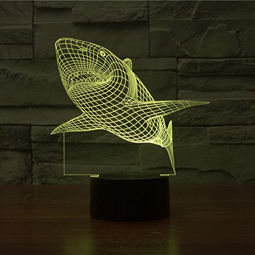 Huiyuan-3d-Night-Lamp-Colorful-Shark-Shape-Touch-Control-Light-7-Colors-Change-USB-LED-for-Desk-Table-with-Multicolored-USB-Powered-Home-Decoration-Best-Gift-for-Valentines-Day-0-1