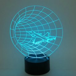 Optical-Illusion-3D-Time-Warp-Lighting-by-Playtime-123-is-a-Great-Nightlight-with-a-Soft-Subtle-Glow-for-Kids-These-Eco-friendly-Laser-Cut-Precision-LED-Lights-Make-Beautiful-Gifts-for-Mom-and-Amazing-0
