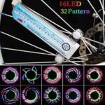 Docooler-Colorful-Bicycle-Bike-Cycling-Wheel-Spoke-Light-32-LED-32-pattern-Waterproof-0-0