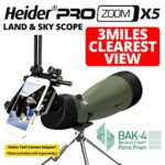 Heider-Pro-Zoom-X5-Land-Sky-Scope-3-MILES-CLEAREST-VIEW-75X-Zoom-Power-BAK-4-With-Porro-Prism-Glasses-Military-Standard-and-Superior-German-Design-Tripod-Bag-Included-0